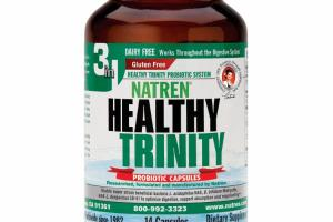 HEALTHY TRINITY PROBIOTIC DIETARY SUPPLEMENT CAPSULES