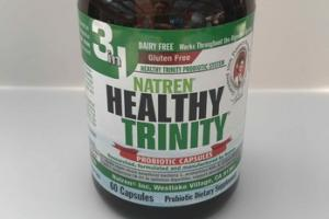 HEALTHY TRINITY PROBIOTICS DIETARY SUPPLEMENT CAPSULES