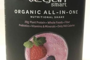 WILD BERRIES FLAVORED ORGANIC ALL-IN-ONE NUTRITIONAL SHAKE DIETARY SUPPLEMENT