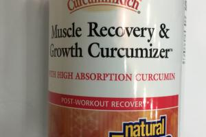 Muscle Recovery & Growth Curcumizer Dietary Supplement