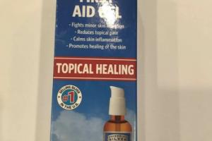 FIRST AID GEL TOPICAL HEALING PUMP GEL HOMEOPATHIC MEDICINE