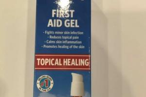 TOPICAL HEALING PUMP FIRST AID GEL HOMEOPATHIC MEDICINE