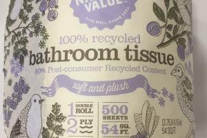 Soft And Plush Bathroom Tissue