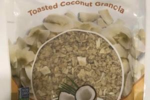 ORGANIC TOASTED COCONUT GRANOLA