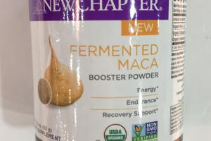 Fermented Maca Booster Powder Dietary Supplement