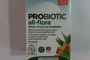 Probiotic All-flora Dietary Supplement