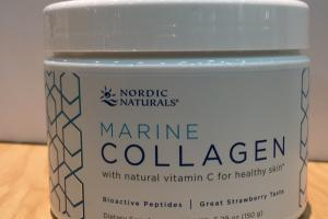 Marine Collagen With Natural Vitamin C For Healthy Skin Dietary Supplement