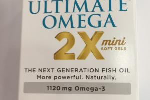 Ultimate Omega 2x Mini Soft Gels Dietary Supplement