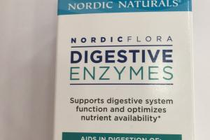 Nordic Flora Digestive Enzymes Dietary Supplement
