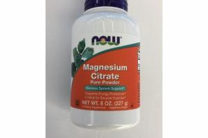 MAGNESIUM CITRATE PURE POWDER A DIETARY SUPPLEMENT