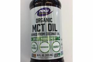ORGANIC MCT OIL DERIVED FROM COCONUT OIL A DIETARY SUPPLEMENT
