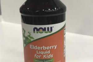 LIQUID FOR KIDS IMMUNE SUPPORT A DIETARY SUPPLEMENT VEGETARIAN/VEGAN, ELDERBERRY