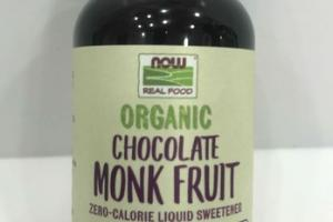ORGANIC CHOCOLATE MONK FRUIT