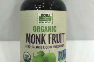 ORGANIC MONK FRUIT ZERO-CALORIE LIQUID SWEETENER