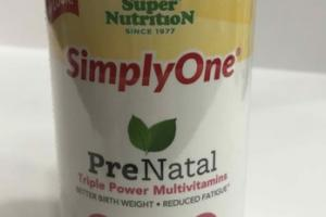 PRENATAL TRIPLE POWER MULTIVITAMINS A DIETARY SUPPLEMENT TABLETS