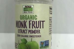 ZERO-CALORIE SWEETENER MONK FRUIT EXTRACT POWDER