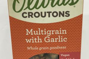 Multigrain With Garlic Croutons
