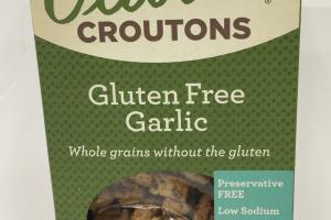 Gluten Free Garlic Croutons