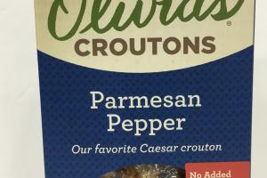 Parmesan Pepper Croutons