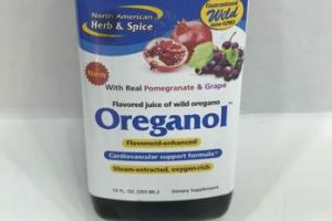 REAL POMEGRANATE & GRAPE FLAVORED JUICE OF WILD OREGANO DIETARY SUPPLEMENT