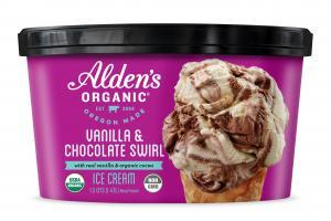 VANILLA & CHOCOLATE SWIRL ICE CREAM