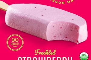 FRECKLED STRAWBERRY WITH REAL ORGANIC STRAWBERRIES YOGURT BAR