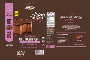 CHOCOLATE CHIP ICE CREAM SANDWICH