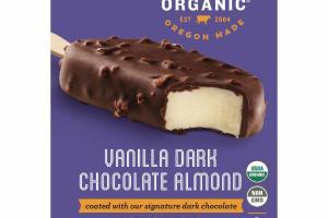 VANILLA DARK CHOCOLATE ALMOND ICE CREAM BAR