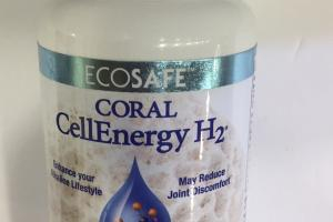 Coral Cellenergy H2 Ultimate Antioxidant Formula Dietary Supplement