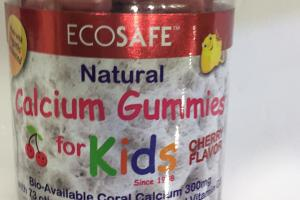 Calcium Gummies Dietary Supplement