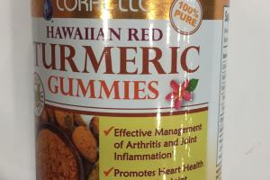 Hawaiian Red Turmeric Gummies Dietary Supplement