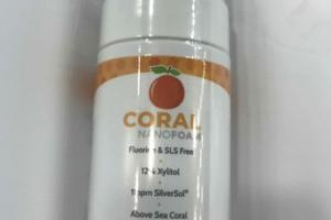 FOAMING TOOTHPASTE, ORANGE BLAST