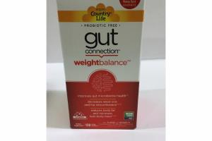 GUT CONNECTION WEIGHT BALANCE DIETARY SUPPLEMENT CAPSULES