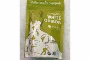 ORGANIC WHITE QUINOA MOTHER NATURE'S SUPERFOODS