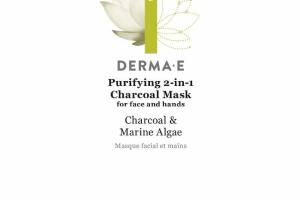 PURIFYING 2-IN-1 CHARCOAL MASK, CHARCOAL & MARINE ALGAE