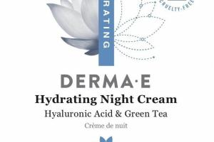 HYDRATING NIGHT CREAM HYALURONIC ACID & GREEN TEA