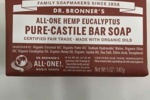 ALL-ONE HEMP EUCALYPTUS PURE-CASTILE BAR SOAP