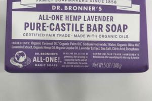 ALL-ONE HEMP LAVENDER PURE-CASTILE BAR SOAP