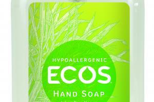 HYPOALLERGENIC HAND SOAP, LEMONGRASS