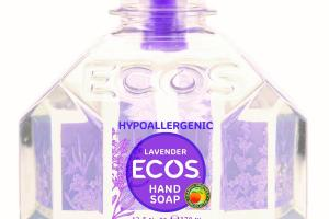 HYPOALLERGENIC HAND SOAP, LAVENDER