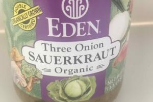 ORGANIC THREE ONION SAUERKRAUT