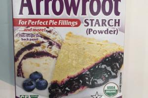Organic Arrowroot Starch (powder)