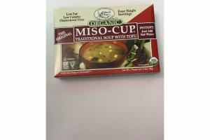 MISO-CUP TRADITIONAL SOUP WITH TOFU