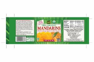 100% ORGANIC MANDARINS ORANGE JUICE