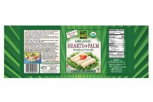 ORGANIC HEARTS OF PALM