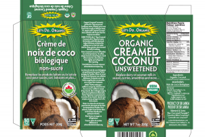ORGANIC UNSWEETENED CREAMED COCONUT