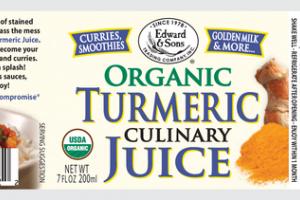 ORGANIC TURMERIC CULINARY JUICE