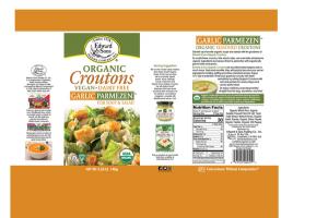 GARLIC PARMEZEN ORGANIC CROUTONS FOR SOUP & SALAD