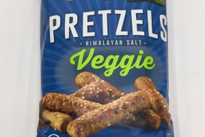 Himalayan Salt Veggie Pretzels