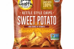 SWEET CHIPOTLE POTATO KETTLE STYLE CHIPS